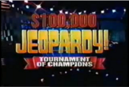 Jeopardy! $100,000 Tournament of Champions 3