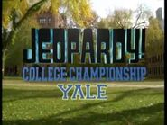 Jeopardy! Season 20 College Tournament Title Card