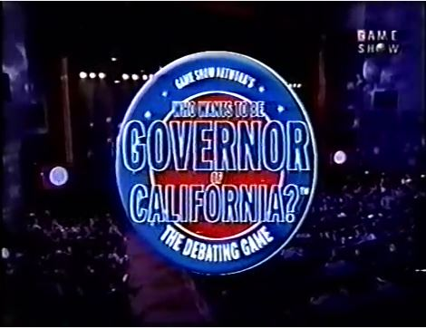 Who Wants To Be Governor of California?: The Debating Game