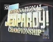 Jeopardy! Season 13c Jeopardy! International Championship