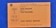 Split Second (February 03, 1973)
