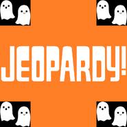 Jeopardy! Logo for Halloween