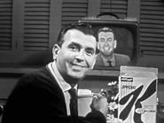 Dennis Watching Himself on TV