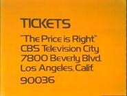 TPIR Ticket Plug 1973