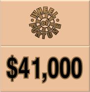 WOF $41,000
