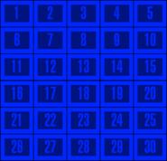 Concentration board 1958 color by mrentertainment-d6jna7d