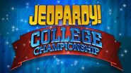 Jeopardy! Season 25-26 College Championship Title Card