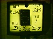 It's Your Bet Production Slate 19691021