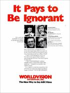 It Pays to Be Ignorant 3-19-1973