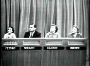 The Price is Right 1956 COnestant's row