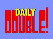 Jeopardy! Season 1 & Season 2 Daily Double Logo