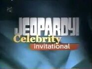 Jeopardy! Season 14 Celebrity Invitational Title Card