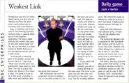 Weakest Link Article