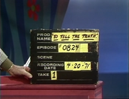 To Tell the Truth Production Slate 19710420