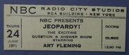 Jeopardy! (June 24, 1971)