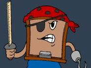 Blackboard The Pirate