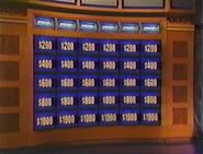 Jeopardy! Sushi Bar Era Set Era With Increased Values 2