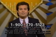 Wheel of Fortune by Phone 1-900-370-5123