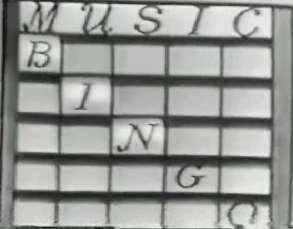 Music Bingo