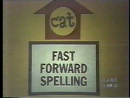 Fast Forward Spelling