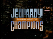 Jeopardy! 2000 Tournament of Champions title card