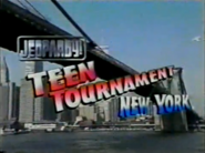 Jeopardy! Teen Tournament Logo 1999