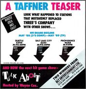 Talkabout '89 teaser ad