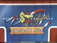 The Price is Right 2002 Doors for US Firefighters & Police
