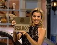 Vanna Holding $25,000 Card
