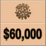 WOF $60,000