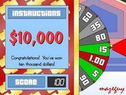 $10,000 Win on Big Wheel-2