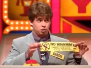 Aaron No Whammy Bumper Sticker