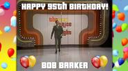 Happy 95th Birthday Bob Barker