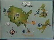 Pilot Map Game
