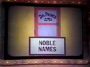 Noble Names