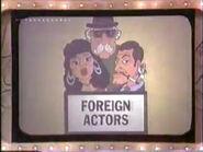 Foreign Actors