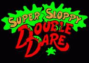 Super Sloppy Double Dare Logo 1989