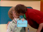 Betty and CNR's Fake Moustach Kiss