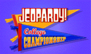 Jeopardy! Season 28 College Championship Title Card
