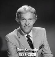 Tom Kennedy 1927-2020