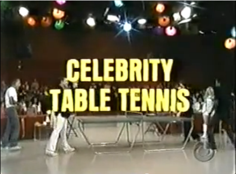 Celebrity Table Tennis