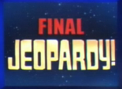 Jeopardy! 2007-2008 Final Jeopardy! title card