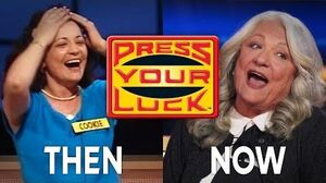 Press Your Luck - THEN and NOW! COOKIE is BACK for more CASH! BUZZR