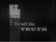 To Tell The Truth 1966