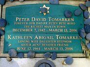 Peter tomarken grave