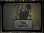 Real Names