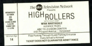 High Rollers (October 22, 1986)