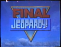 Jeopardy! 1993-1994 Final Jeopardy! intertitle