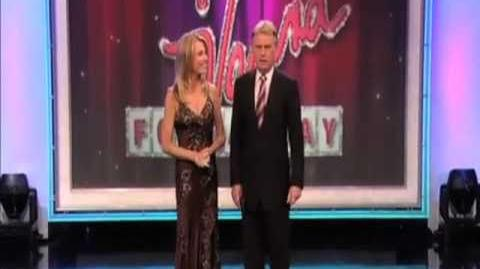 Wheel of Fortune Vanna for a Day Winner Promo - Lora Cain voiceover