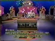 Blackout Copyright Date